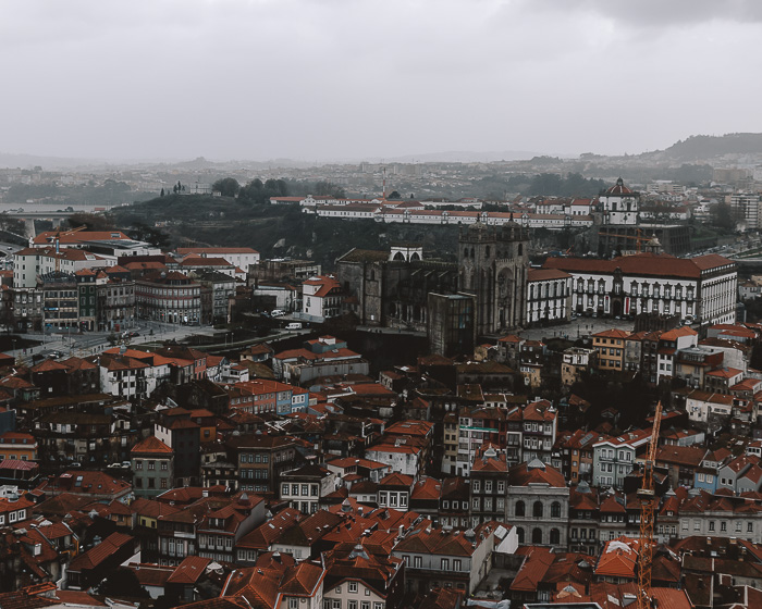 Porto panorama from Torre dos Clerigos by Dancing the Earth