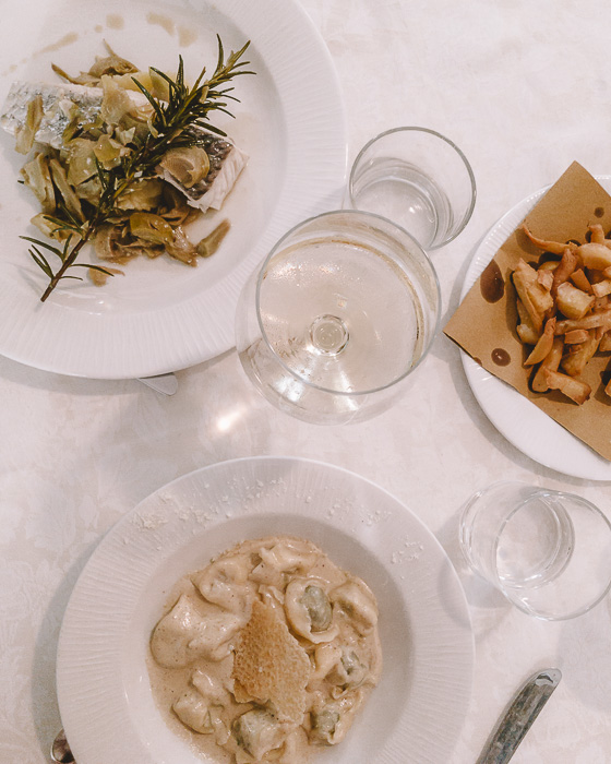 Lunch at Trattoria Osvaldo, Boccadasse, Liguria and Cinque Terre travel guide by Dancing the Earth