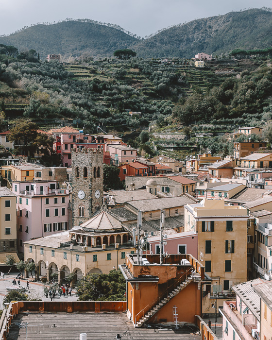 Monterosso from the blue path, Liguria and Cinque Terre travel guide by Dancing the Earth