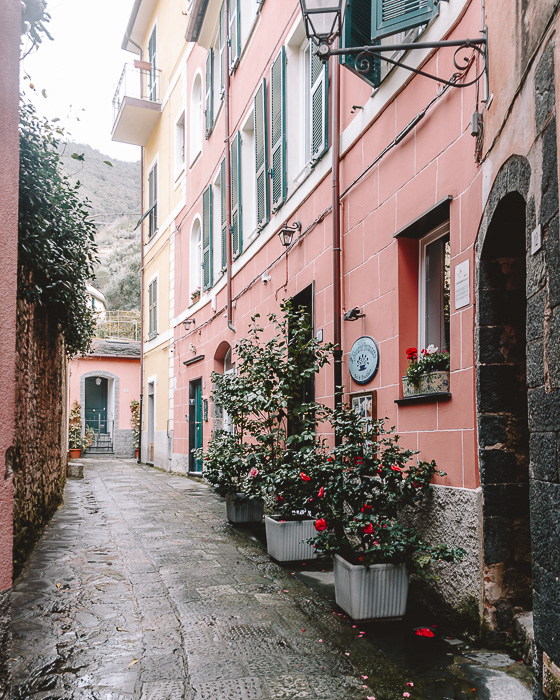 Street of Monterosso, Liguria and Cinque Terre travel guide by Dancing the Earth