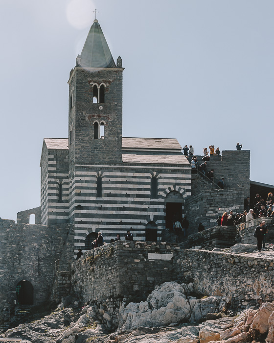Cathedral of Porto Venere, Liguria and Cinque Terre travel guide by Dancing the Earth