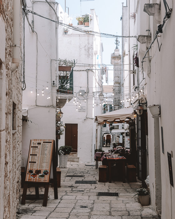 Restaurants in Cisternino, Puglia travel guide by Dancing the Earth