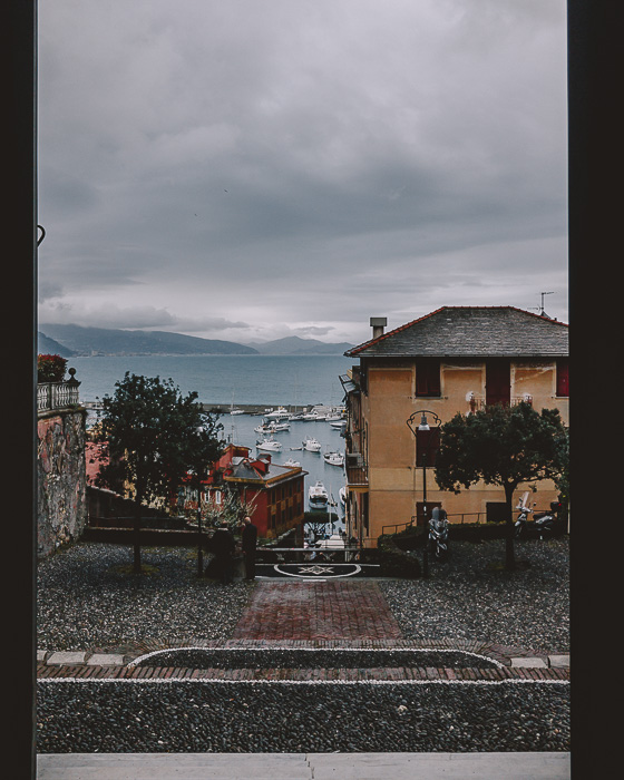 View of Santa Margherita Ligure from the church
