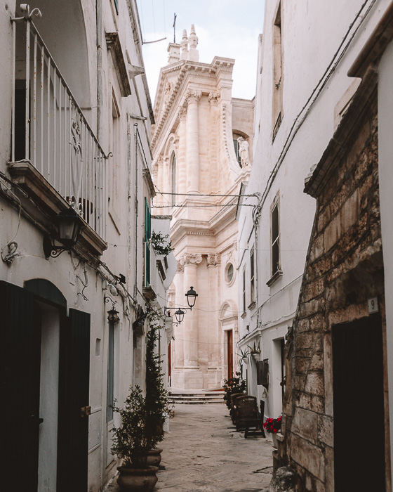 Cathedral of Locorotondo, Puglia travel guide by Dancing the Earth