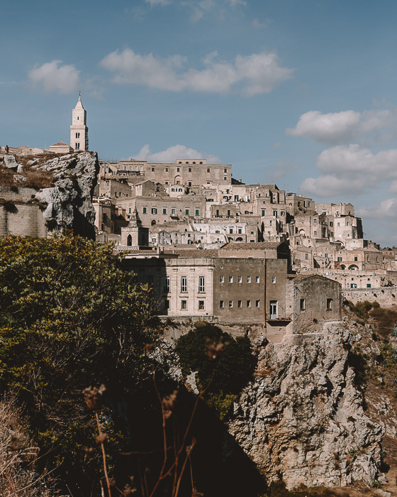 Modern sassi from the old town, Matera, Puglia travel guide by Dancing the Earth