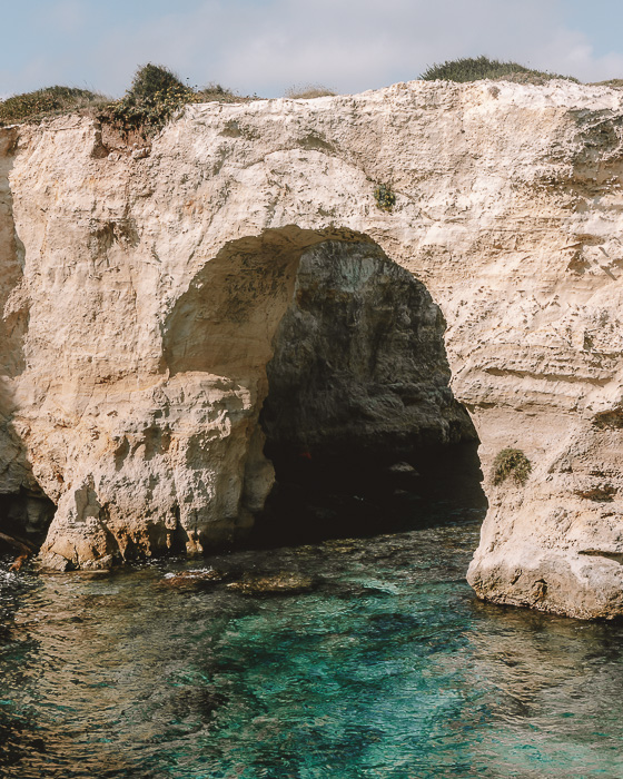 Arco naturale in Torre Sant'Andrea