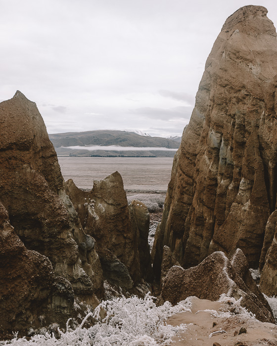 Clay Cliffs, Dancing the Earth