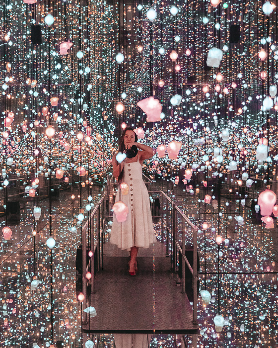 Infinity room pink in Steampunk HQ, Oamaru, Dancing the Earth