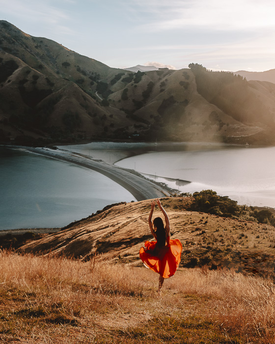 Cable Bay, South Island, Dancing the Earth