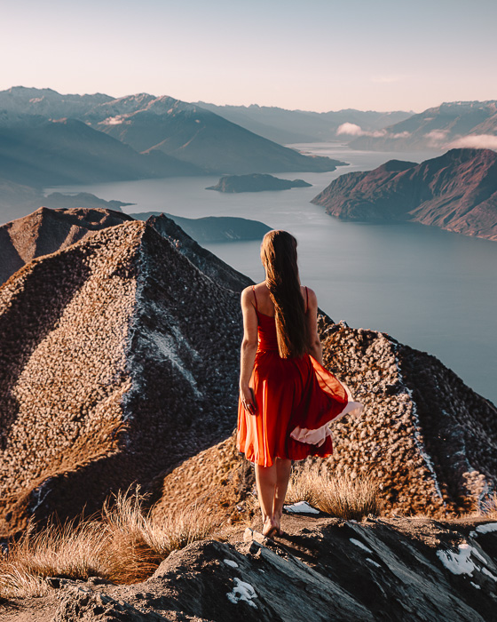 Look from the Roys Peak viewpoint, Dancing the Earth