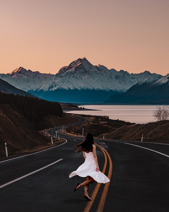 St Peters Lookout on Aoraki/Mt Cook, South Island, Dancing the Earth