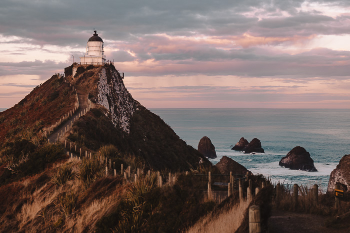 Nugget Point Lighthouse and the Nuggets, Dancing the Earth
