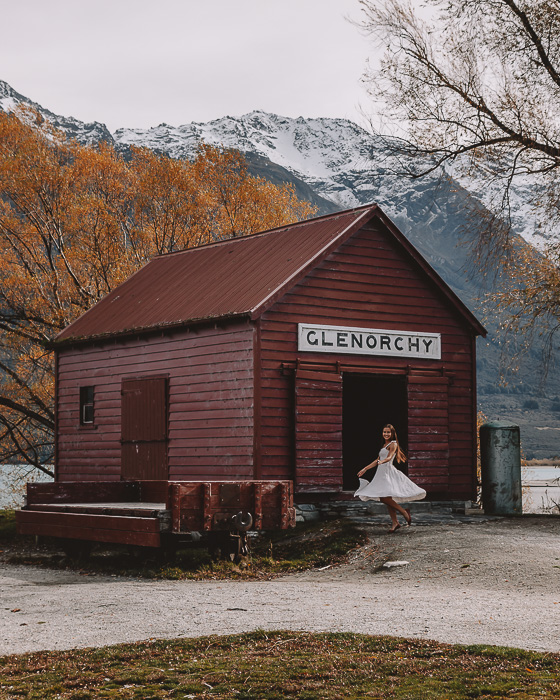 Glenorchy shed, Dancing the Earth
